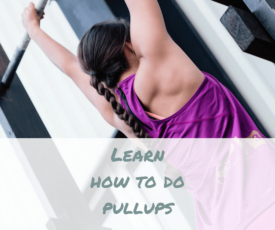 Learn how to do pullups