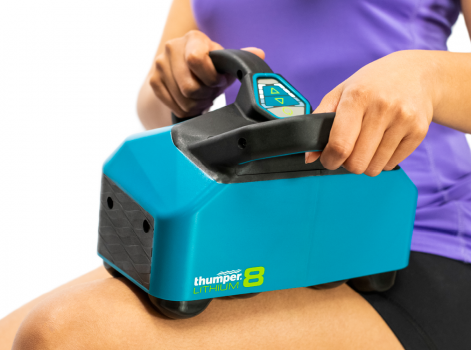 Lithium8 is the first battery powered Thumper and the only percussive massager of its kind. Ideal for individuals looking for an electric massager without the obstruction of a cord. You can take it with you anywhere, be it to the gym or the football pitch.